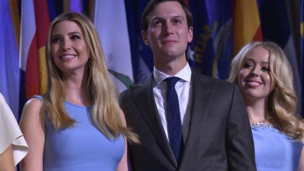 Foto: AFP/MANDEL NGAN Kushner menikah dengan Ivanka Trump (kiri), putri Donald Trump dari istri pertamanya, Ivana.