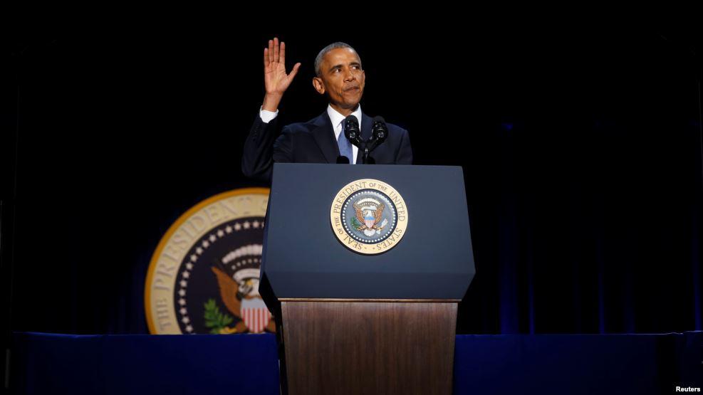 Tweet Perpisahan Obama Ramai di-tweet Ulang