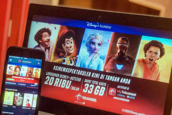 Pada periode promo 5 September hingga 31 Oktober 2020, Telkomsel juga menyediakan penawaran spesial yang hanya tersedia di aplikasi MyTelkomsel berupa tambahan kuota MAXstream 30GB selama 30 hari (satu kali selama masa promo). Pelanggan bisa menikmati lebih dari 500 film dan 7.000 episode dari konten kreasi Disney, Pixar, Marvel, Star Wars, National Geographic, dan lainnya termasuk  300 film Indonesia. Untuk informasi lebih lanjut mengenai penawaran Disney+ Hotstar spesial dari Telkomsel, silakan mengunjungi telkomsel.com/disney.