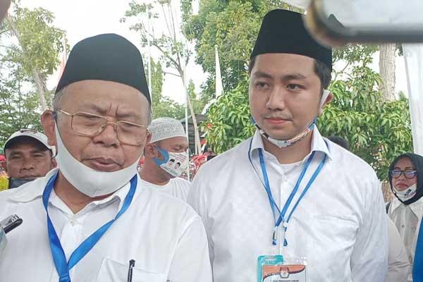 Pasangan calon Soekirman-Tengku Ryan Novandi (Beriman Trendy). Setelah berkas mereka ditolak KPU Sergai, KPU memperpanjang pendaftaran.