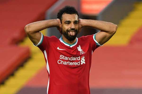 TAJAM: Ketajaman Mohammed Salah di lini depan Liverpool diharapkan mampu merusak pertahanan Arsenal di Stadion Anfield, Selasa (29/9) dini hari WIB.