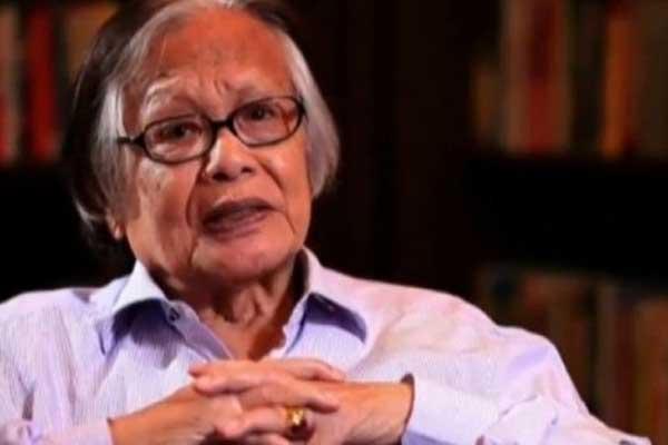 WAFAT: Tokoh jurnalistik nasional Jakob Oetama tutup usia di RS Mitra Keluarga, Jakarta, Rabu (9/9).