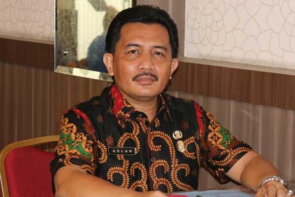 Adlan SPd MM Kepala Dinas Pendidikan  Kota Medan.