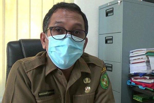 Mardohar Tambunan  Juru bicara GTPP Covid-19  Kota Medan