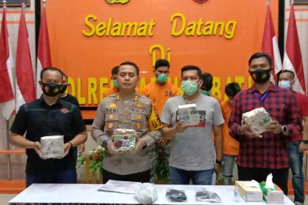 Kepolisian Resor Labuhanbatu gagalkan pengiriman sabu Aceh tujuan Lampung (fajar).