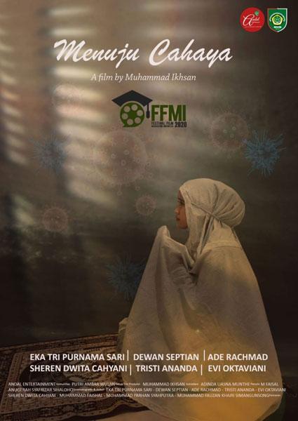 FILM: Cover film karya mahasiswa USU berjudul Menuju Cahaya mengikutiFestival Film Mahasiswa Indonesia  2020. bagus/sumutpos.