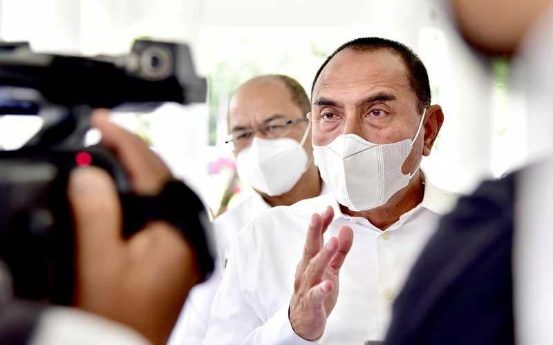 Gubernur Sumatera Utara, Edy Rahmayadi, menegaskan kerumunan akan dibubarkan.