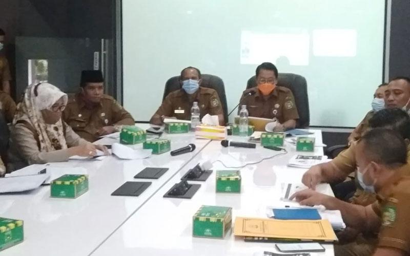 IKUTI: Sekdakab Langkat, Indra Salahuddin mengikuti penilaian Smart City tahap 1 tahun 2020.  ILYAS EFFENDY/ SUMUT POS.