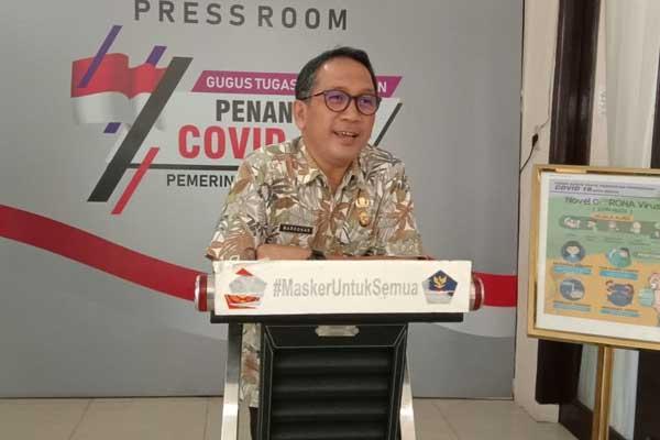 dr Mardohar Tambunan MKes, Juru Bicara (Jubir) Satgas  Covid-19 Pemko Medan.