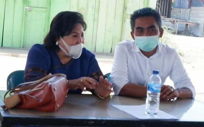 PASLON: KPU Daerah Karo menetapkan pasangan calon (paslon) nomor urut 5 Cory-Theo sebagai pemenang dalam Pilkada 9 Desember lalu.