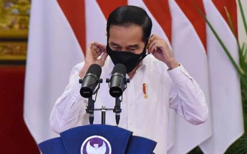 PERTAMA: Presiden Joko Widodo menjadi orang pertama disuntik vaksin Covid-19, 13 Januari nanti.